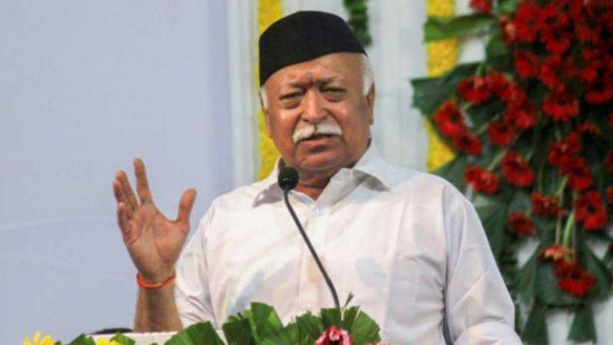 RSS chief Mohan Bhagwat (PTI file photo)
