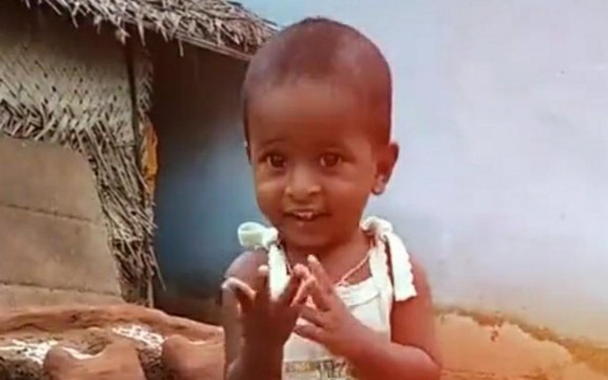 نتيجة بحث الصور عن Indian child Sujit Wilson
