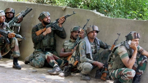 Three terrorists gunned down in Kashmir; militants kill 2 persons