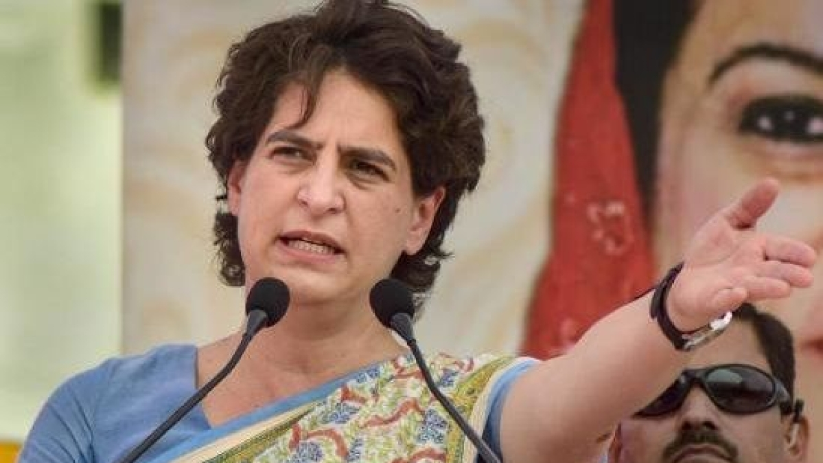 Priyanka Gandhi slams UP govt, says report card filled with lies