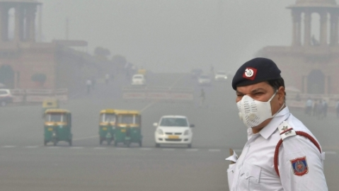 Air pollution levels in Delhi are dangerously high (PTI photo)