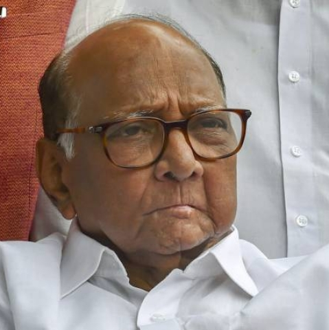 Nationalist Congress Party (NCP) president Sharad Pawar
