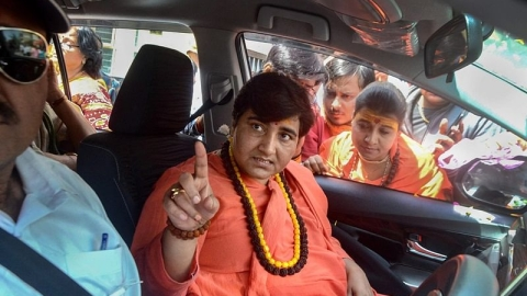 BJP's Pragya calls Mahatma Gandhi's killer a patriot in Lok Sabha; Opposition slams comments