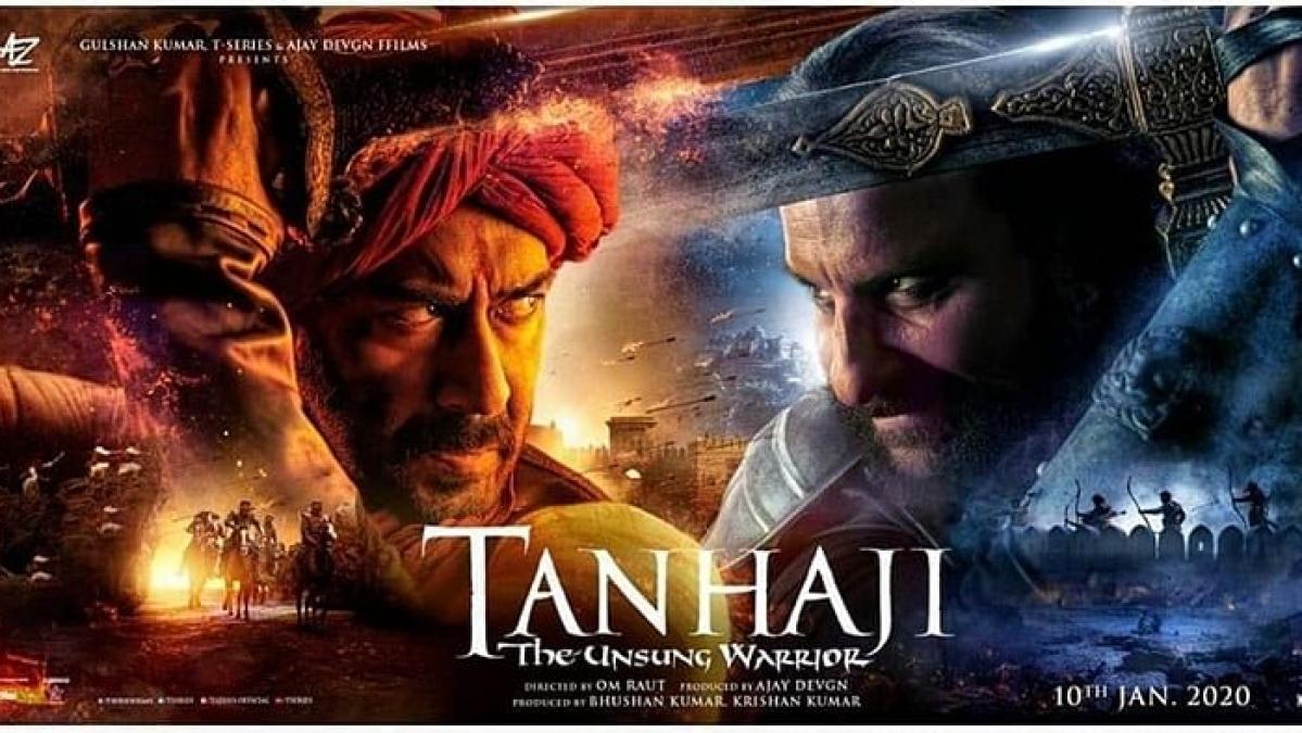 Saif, Sharad Kelkar steal the show in 'Tanhaji'