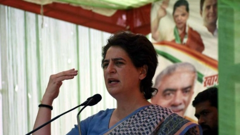 BJP has ruined economy: Priyanka on falling GDP
