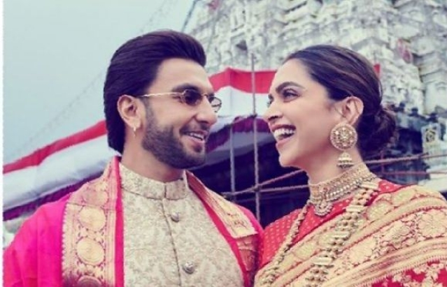 Deepika Ranveer go temple-hopping on their first marriage anniversary