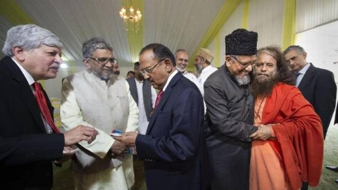 NSA Doval meets Hindu, Muslim religious leaders post Ayodhya verdict