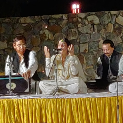 Sufiana melodies light up evening at Sunder Nursery in Delhi