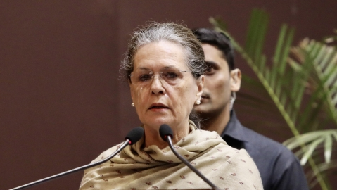Horrifying violence unleashed on India's young by goons with active abetment of ruling Modi govt: Sonia Gandhi