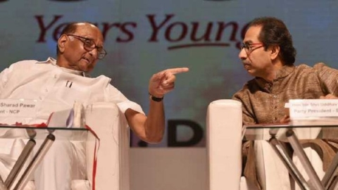 BJP-JJP alliance 'holy' but Congress-NCP-Shiv Sena alliance 'unholy'?