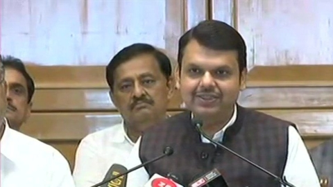Devendra Fadnavis resigns as Maharashtra CM, blames Shiv Sena for failure of talks