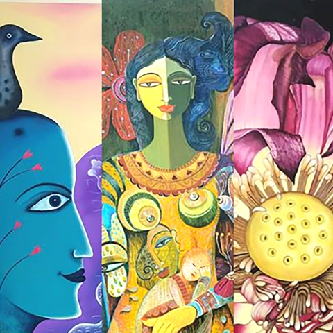 Krishnachura: A group exhibition