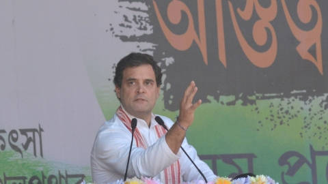 Won't allow BJP-RSS to harm Assam's culture, identity: Rahul Gandhi