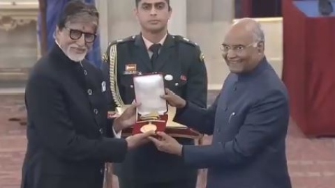 Veteran actor Amitabh Bachchan conferred with Dadasaheb Phalke Award