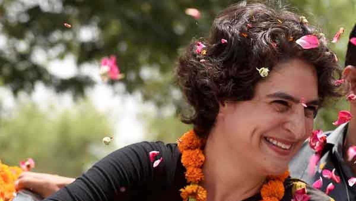 Priyanka Gandhi to visit Varanasi on Sunday