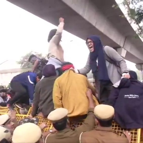 LIVE News Updates: Students of Jamia Millia Islamia University stage protest against Citizenship Act