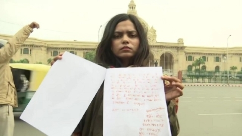 In blood-written letter, shooter Vartika Singh wants Centre to let her hang Nirbhaya convicts