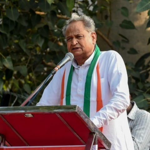 Rajasthan CM Ashok Gehlot (Photo courtesy: Social Media)