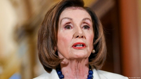 Pelosi takes offence at question about whether she hates Trump