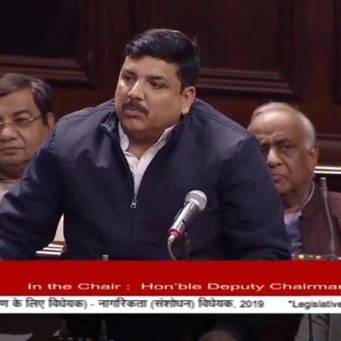 Citizenship Amendment Bill LIVE: CAB against Ambedkar's constitution, Bhagat Singh's dreams, says Sanjay Singh