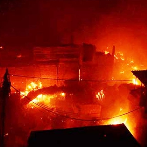 43 dead in 2nd most horrible blaze in Delhi; illegal factory owner arrested