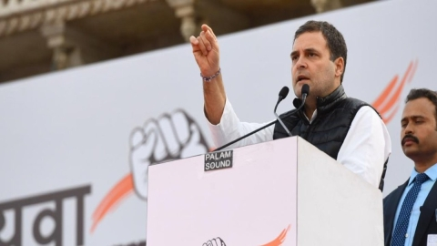 Unemployed forced to hit the streets: Rahul Gandhi