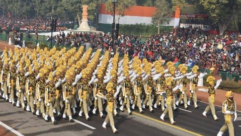 CISF gets 'best marching contingent' award at Republic Day parade