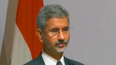 External Affairs Minister S Jaishankar (Photo courtesy: Twitter)
