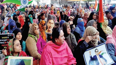 Women rise at Roshan Bagh, Allahabad: Indignant youth speak of injustice