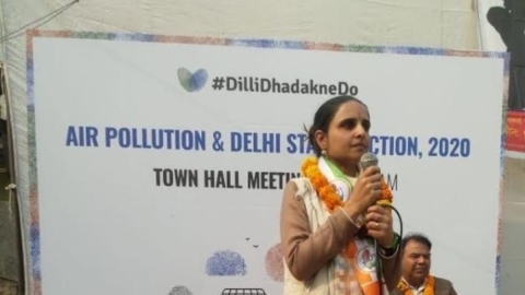 Delhi residents demand clean air solutions in upcoming state elections