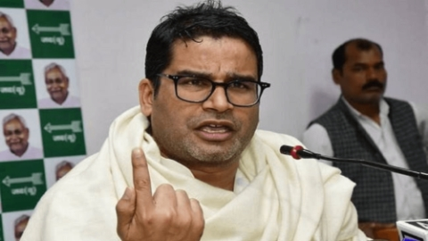 Janata Dal (United) vice president Prashant Kishor (Photo courtesy: Twitter)