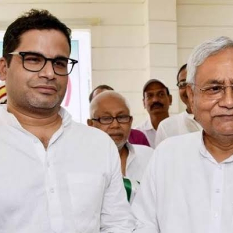 'What a fall': Prashant Kishore attacks Nitish Kumar, axes 'JDU' from Twitter bio