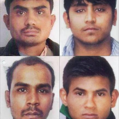 (Clockwise from left) Mukesh Singh, Akshay Thakur, Pawan Gupta and Vinay Sharma, the convicts in the Nirbhaya case