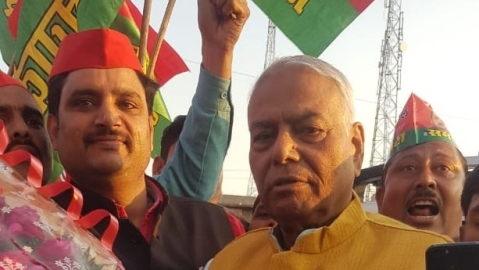 Constitution in danger, says former union minister Yashwant Sinha