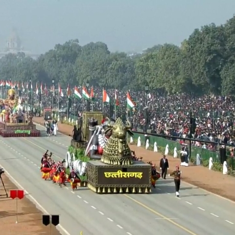 LIVE News Updates: 71st Republic Day parade underway at Rajpath, Delhi