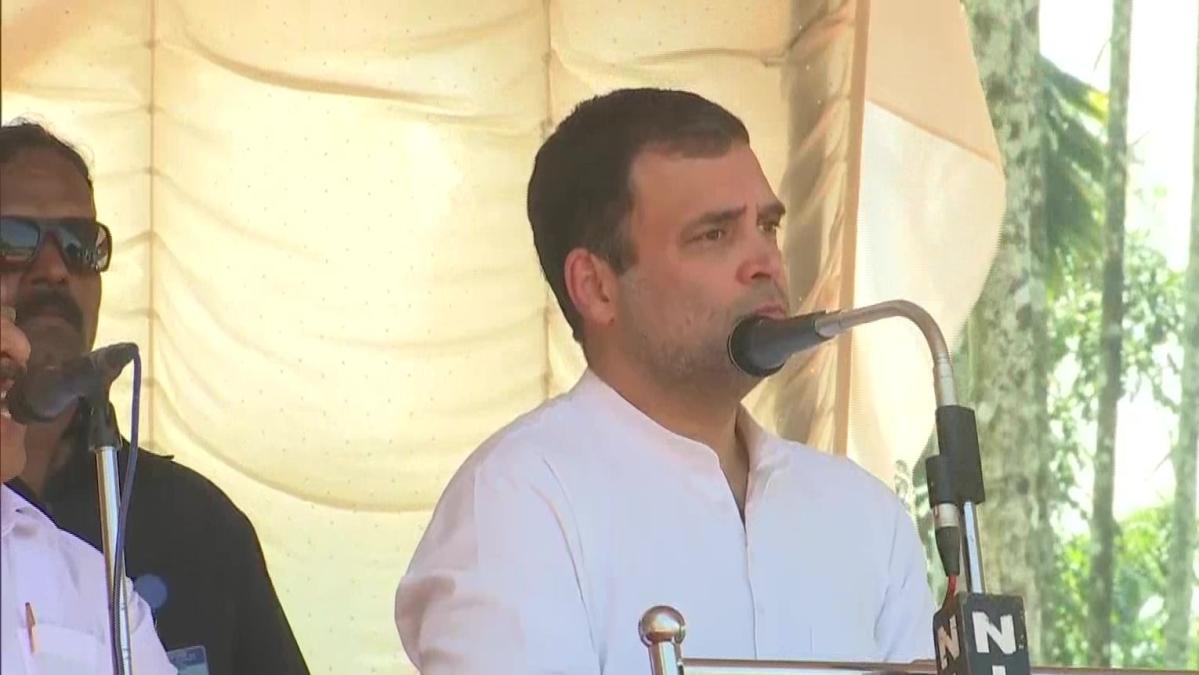 Godse, Modi believe in same ideology, says Rahul Gandhi