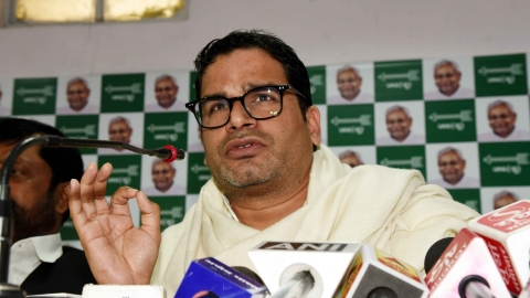 None like Sushil Modi in giving character certificate: Prashant Kishor