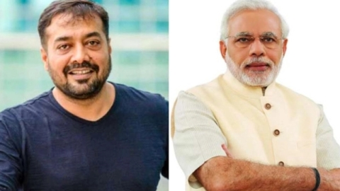 """....But Modi can never be wrong, Why? Because illiterate people are like this,"" says Anurag Kashyap"