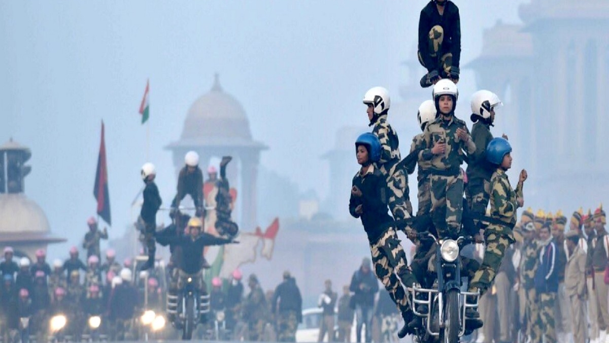 Women CRPF bikers to make Republic Day parade debut with daredevil stunts