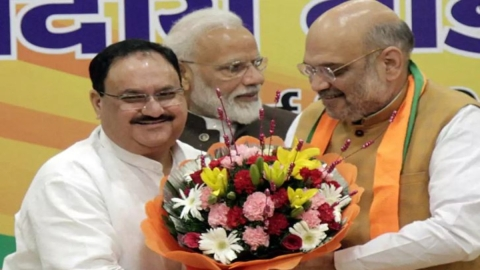 As 'ekadashi' sets in, Jagat Prakash Nadda to replace Amit Shah by afternoon
