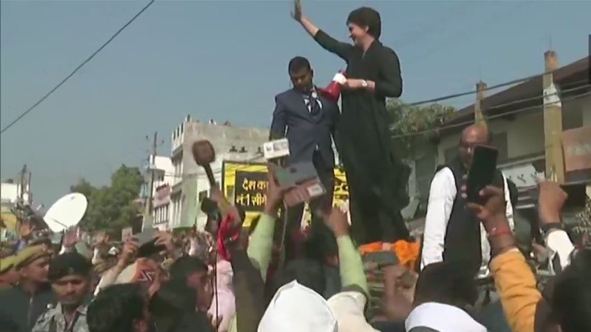Raising voice in democracy not a crime: Priyanka Gandhi