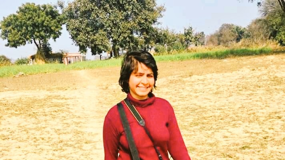 Journalist Pradeepika Saraswat who was among the ten Satyagrahis on a march for harmony was booked under section 151, arrested and sent to jail in Ghazipur in UP.