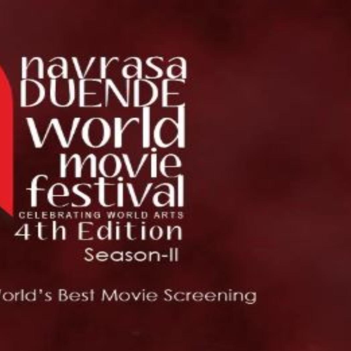 A sneak peek in the 4th Edition (Season II) of Navrasa Duende World Movie Festival