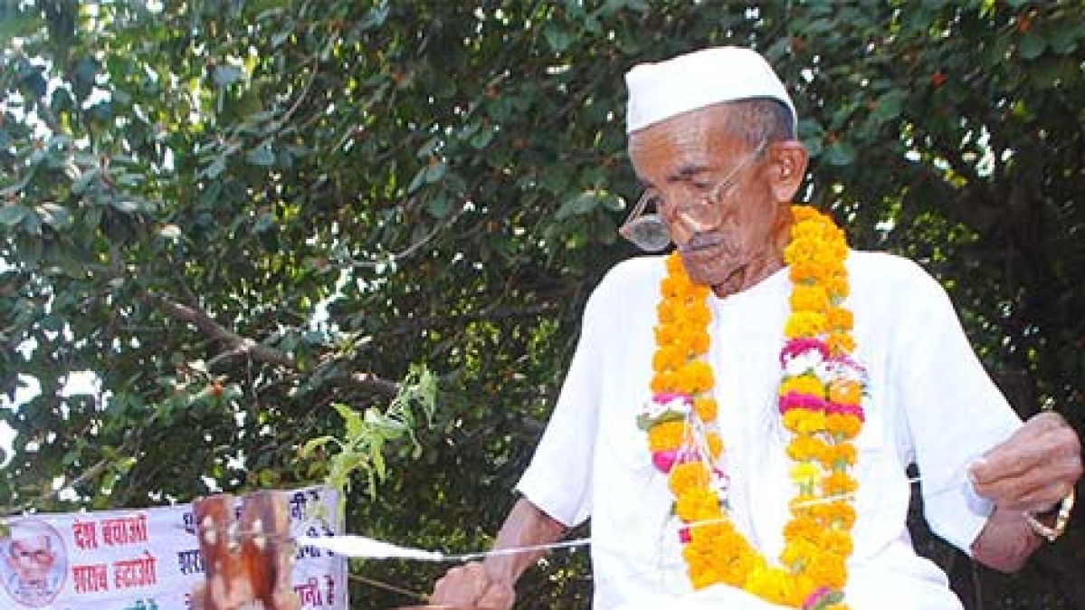 101-year-old Gandhian passes away in Agra