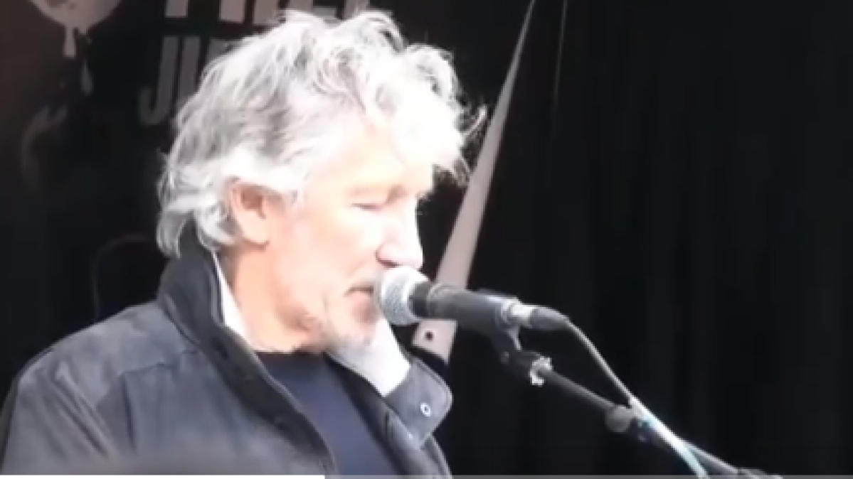 Roger Waters (Screen grab from the video)