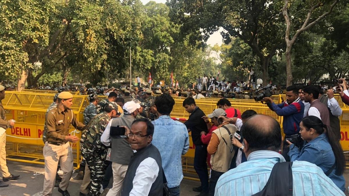Post-Delhi polls, JNUSU back in anti-CAA mode
