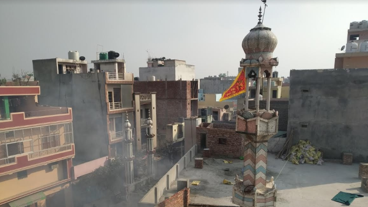 Verification: Video of mosque vandalised, set on fire is from Ashok Nagar in Delhi