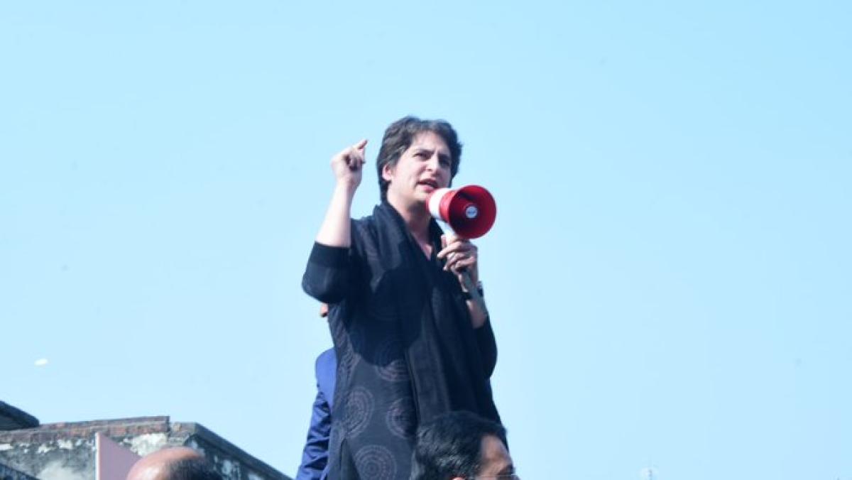 BJP against Dalit-Backward; CAA being used to divide the society, says Priyanka Gandhi in Azamgarh