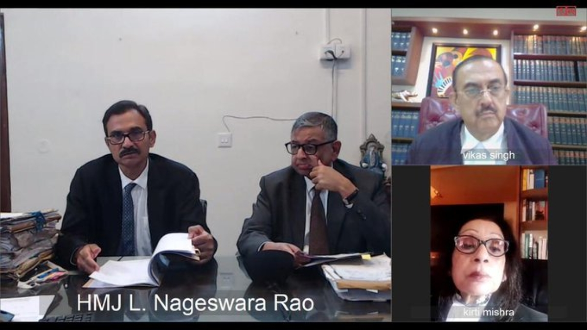 Covid-19 scare: SC uses video conferencing for the first time ever, takes up very urgent matters