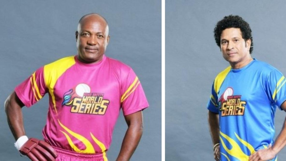 Sachin Tendulkar's India Legends face Brian Lara's Windies Legends at Wankhede